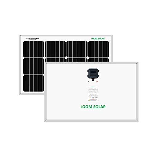 LOOM SOLAR Panel 50 WATT/12 V Mono PERC