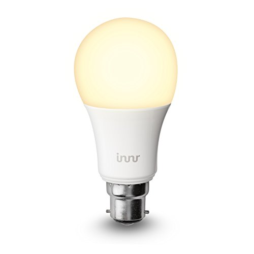 Innr B22 ampoule LED connectée Blanc (pilotable via smartphone, iOS / Android,...