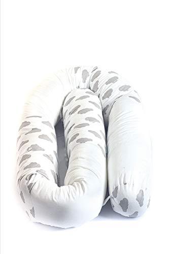 Nestchenschlange Nestchen Roll Bettschlange Schlange Bettrolle 210 Cm für Gitterbett, Wiege oder Stubenwagen. Standard 100 Von Öko Tex