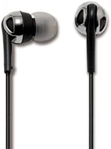 SCOSCHE idr600 Increased Dynamic Range Noise Isolation Earphones Retail Packaging Black product image