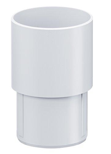 INEFA ® Verbinder für Fallrohre Weiß DN 50,
