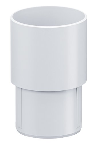 INEFA Steckmuffe DN 50, Kunststoff, Regenrinne, Dachrinne
