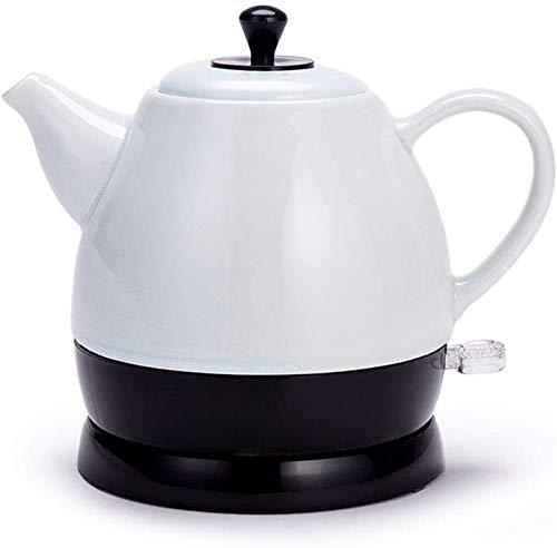 Vite, Céramique bouilloire électrique, sans fil d'eau Teapot 1 litre, sans fil automatique de mise hors tension rapide ébullition, rapide Brew thé, soupe café, Bureau, Style vintage, gris