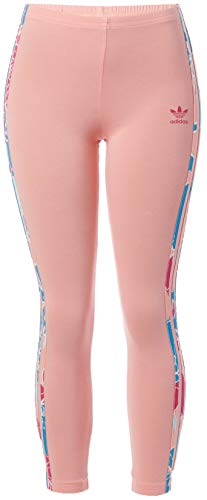 Adidas Originals - Leggings da bambina tinta unita - rosa - S