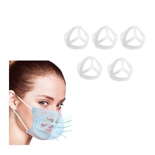 Jamicy 20 Stück 3D Silicone Bracket Face Guards for Under 𝓶𝓪𝓼𝓴, Mundschutz Innerer...