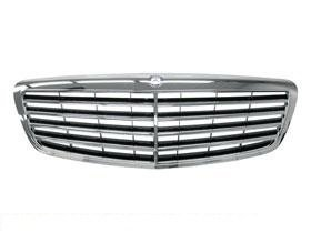 Genuine Mercedes w221 (07-09 non-DP) radiator Grille assy OEM s-class mesh NEW