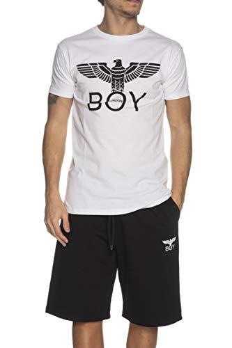 BOY LONDON T-Shirt Uomo MOD. BLU6901 Bianco L