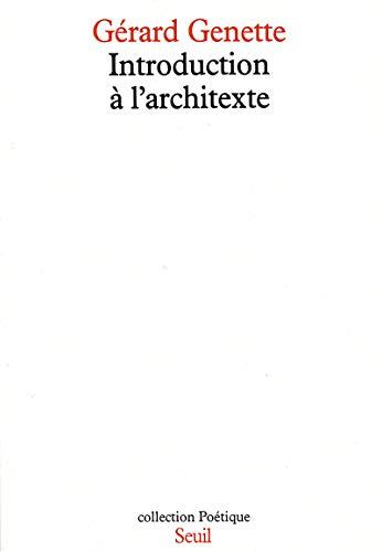 Introduction à l'architexte