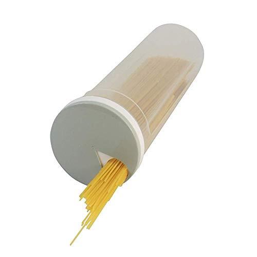 TrifyCore Portatile di immagazzinaggio Contenitore Spaghetti idromassaggio Dispenser - plastica Pasta Contenitore con Coperchio Rotante