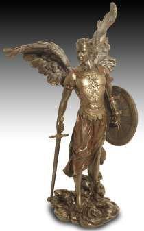 Signes Grimalt–50887sg Figura del Arcángel Michele, Alt. 36cm