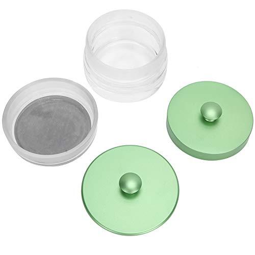 Mxzzand Tarro de Cristal de Lavado de Aceite de Reloj de Estructura Estable, Duradero y Ligero, para relojeros, para Limpiar Piezas pequeñas