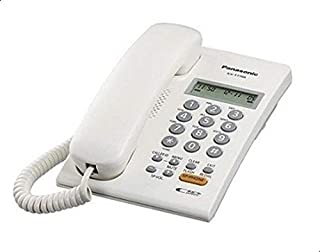 Panasonic Corded Telephone - Panasonic KX-T7705X - White