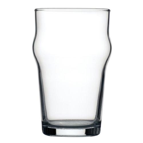 Arcoroc Nonic - Bicchieri da birra 285 ml, marchio CE, 285 ml Marchio CE. Quantità: 48 pezzi.