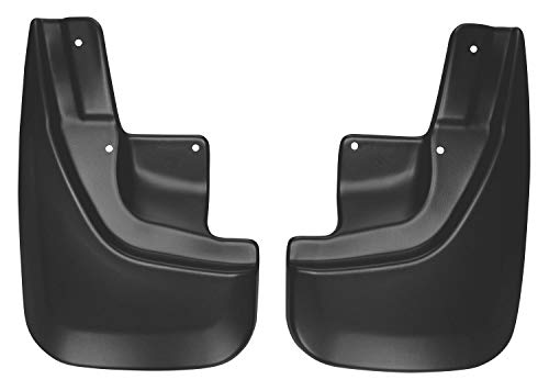 Husky Liners Fits 2011-18 Jeep Grand Cherokee Laredo/Limited/Overland, 2017-18 Jeep Grand Cherokee Trailhawk Custom Front Mud Guards