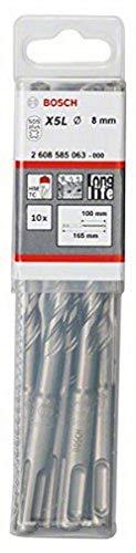 Bosch Professional Hammerbohrer SDS-plus-7 (10 Stück, Ø 8 mm)