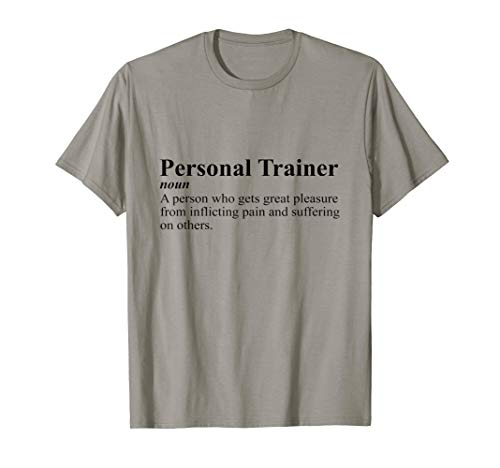 personal shirts Personal Trainer Definition Inflicting Pain Gift T-Shirt