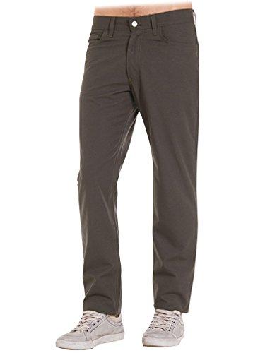 Carrera Jeans - Pantalones para Hombre, Color Liso, Tejido Lona ES 58