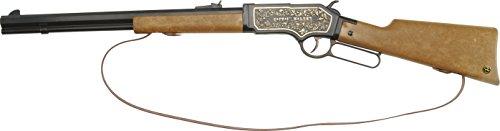 J.G.Schrödel Captain Walker: Spielzeuggewehr für Cowboy- und Sheriff-Spiele sowie Cosplay, für 13-Schuss-Munition, 73 cm, braun/grau (608 5012)