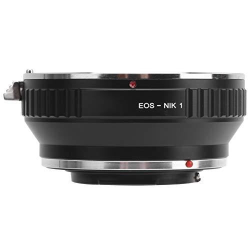 T opiky Adaptador de Objetivo, EOS NIK1 Adaptador de Objetivo Anillo Accesorio para fotografía, para Objetivo para Canon EF a cámara con Montura para Nikon 1, para Nikon N1/1/V1/V2/V3/S1/S2/J1/J2/J3