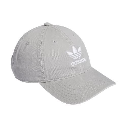 adidas Originals Men's Relaxed Strapback Cap, Stone, ONE SIZE
