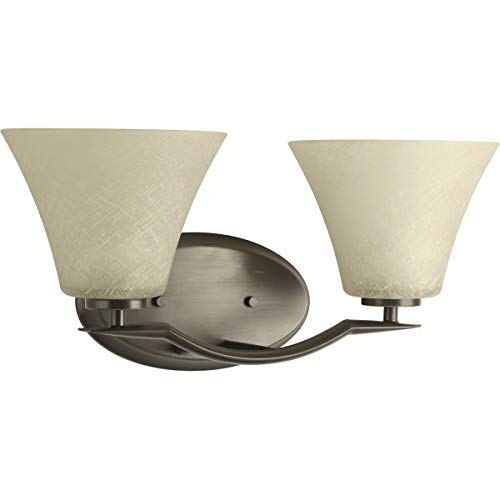 Progress Lighting P2005-20 Bath Light, Antique Bronze