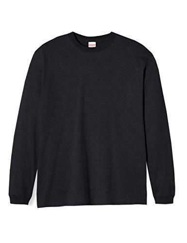 (ユナイテッドアスレ)UnitedAthle 5.6オンス 長袖Tシャツ(1.6インチリブ) 501101 [メンズ] 002 ブラック L