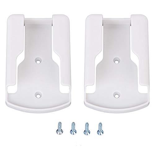 SMTHOME Supporto Custodia per telecomando per condizionatore d'aria Scatola portaoggetti a parete Organizer Rack per telefono telecomando TV (Bianco 2 pezzi)