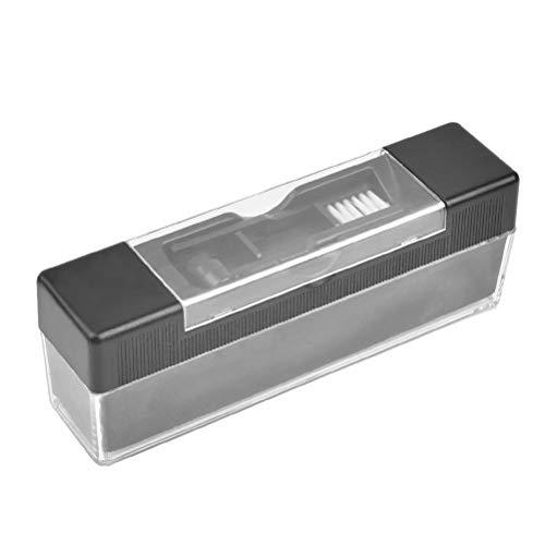 JAOMON JAOMON Kit Limpiador de Discos de Vinilo, Cepillos de Limpieza Antiestáticos (12,5 x 4,5 x 3 cm)