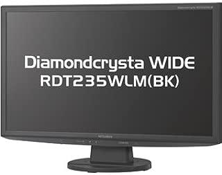 MITSUBISHI 23型ワイド液晶ディスプレイ(ノングレア) フルHD対応/ブラック RDT235WLM(BK)