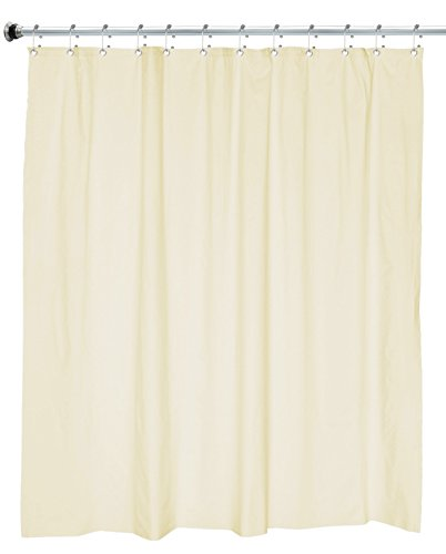 Utopia 100% PEVA Shower Curtain, 6 Guage for great thickness, No Odors, Non Toxic, No Chemicals, Use...