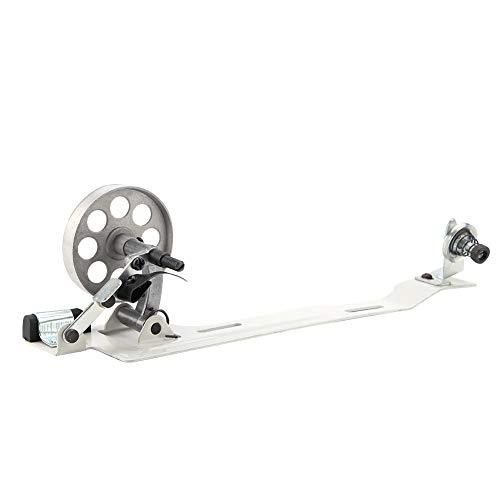 Devanadora de bobina, accesorios de máquina de coser industrial de acero inoxidable, bobinadora de rueda pequeña para Juki Brother (2,5 pulgadas)