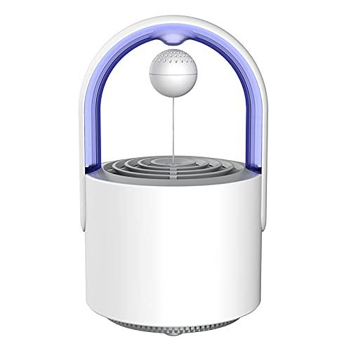 ZHTY Físico lámpara de Mosquito,Rayos Ultravioleta de 360 °,Flujo de Aire y Temperatura Corporal Humana simulada para atraer Mosquitos,Bajo Nivel de Ruido Adecuado para Interiores y Exteriores