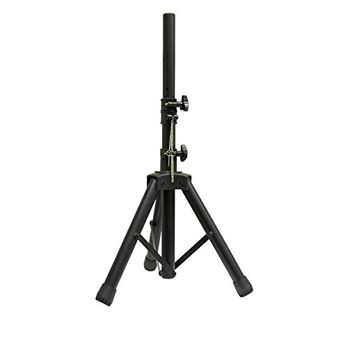 New Jersey Sound - Soporte para altavoz (ajustable, 35 mm), color negro