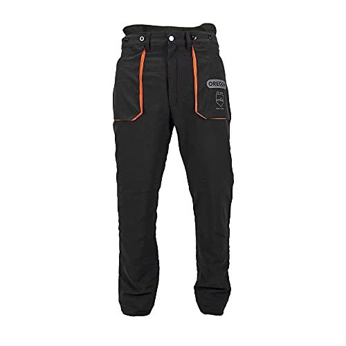 Oregon Yukon Pantaloni Protettivi Adatti all'utilizzo della Motosega, Tipo di Protezione A, Classe 1, Taglia Grande (EU 50-52)
