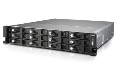 TVS-1271U-RP-I7-32G - TVS-1271U-RP-I7-32G 2U 12BAY 3.2GHz Intel Core i7-4790S, 32GB DDR3 RAM, 12x HDD/SSD (2.5''/3.5''), 4x Gigabit RJ-45 Ethernet, 4x USB 3.0, 4x USB 2.0, 1x HDMI, 1x PCIe Gen3 x8, 1x PCIe Gen3 x4, 2U Rack, 500W, QTS 4.1
