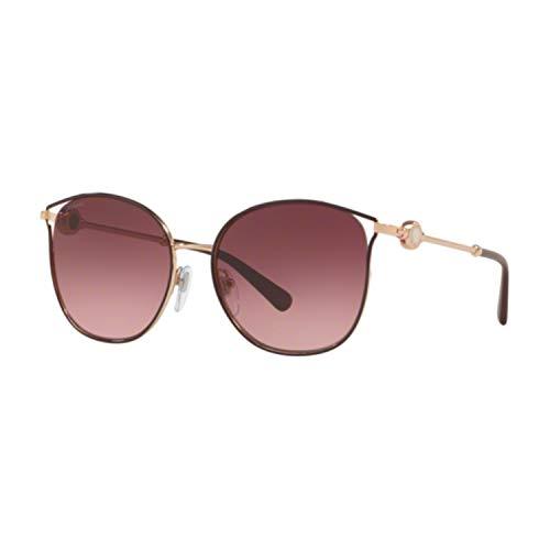 Bulgari Gafas de sol para mujer, modelo 6114 Pink Gold/Plum M