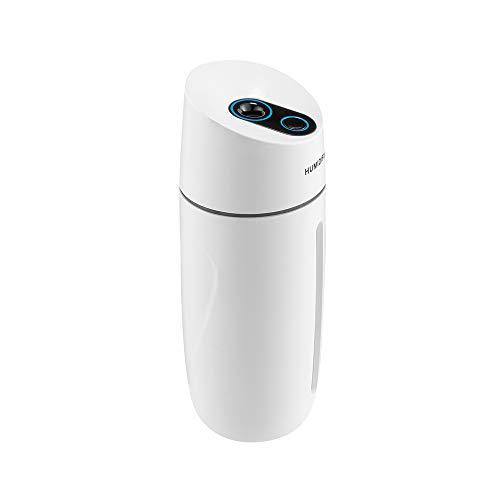 Junenoma Mini-luchtbevochtiger, koude stoom, multifunctioneel, draagbaar, zonder water, automatische uitschakeling, eenvoudige reiniging, verstelbaar, voor reizen in de auto