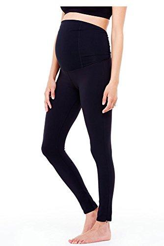 Ingrid & Isabel Maternity Workout Legging | Activewear | for Your Pregnancy Jet Black
