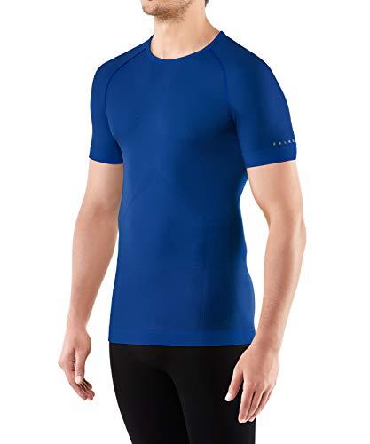 FALKE Cool M S/S SH Chemise de randonnée Homme, Bleu (Yve 6714), XXL