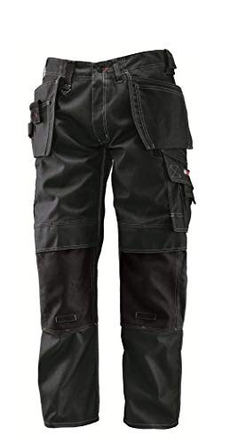 Bosch Professional Hose mit Holstertaschen WHT 09, W34 L32, schwarz