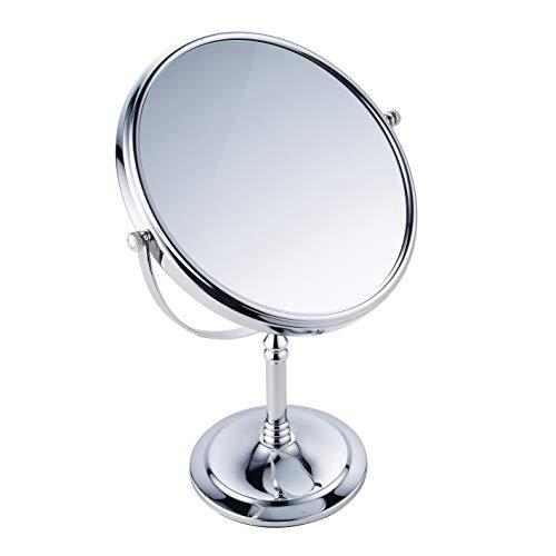 bgl Schönheitsspiegel wird auf beiden Seiten verwendet, Schminktischspiegel 1X / 3X, 8