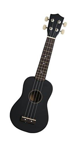 Navarra NV21 - Ukulele soprano, color negro