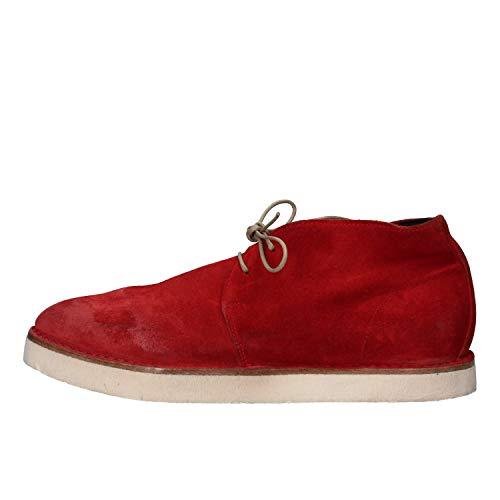 MOMA Desert Boots Damen Wildleder rot 37 EU