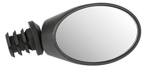 M-Wave Unisex's Spy Ovaal 3D Fiets Spiegel, Zwart, One Size