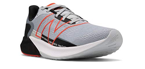 New Balance Men's FuelCell Propel V2 Running Shoe, Light Cyclone/Ghost Pepper/Black, 10 Wide
