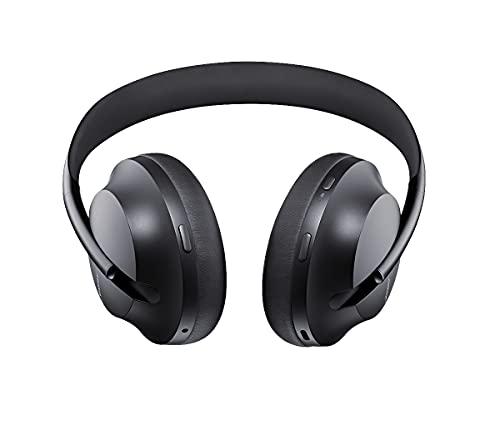 Bose Noise Cancelling Headphones 700 – kabellose Bluetooth-Kopfhörer im Over-Ear-Design mit integriertem Mikrofon für klar verständliche Telefonate und Alexa-Sprachsteuerung, Schwarz