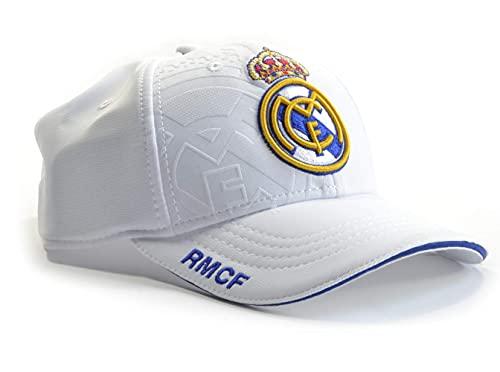 Gorra Real Madrid junior blanco primer equipo escudo Colores...
