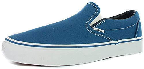 Vans Unisex-Erwachsene Classic Slip-On Low-Top, Blau (Navy NVY), 36.5 EU