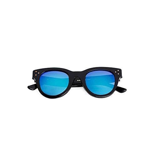 Spektre She Loves You Sonnenbrille Männer Frauen hoher Schutz spiegel blau Made in Italy