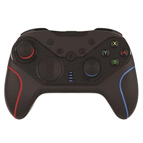 OWENRYIN Mando a distancia inalámbrico Gamepad Joypad para NS Switch Pro & PC de 6 ejes Gyro Soporte Turbo & Dual Vibration Wireless Gamepad